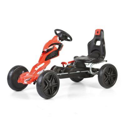Παιδικό Αυτοκινητάκι Go Kart με Πετάλια - BYOX Adrenaline 1504 Red
