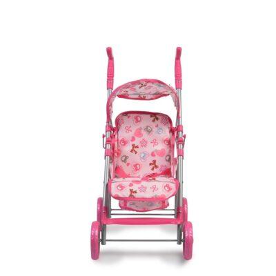 Καρότσι για Κούκλες - MONI Flower Garden 9351 Pink