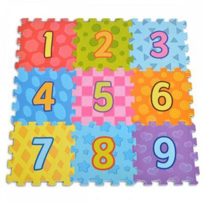 Πάζλ Δαπέδου 9τμχ με Αριθμούς – MONI Toys 3020