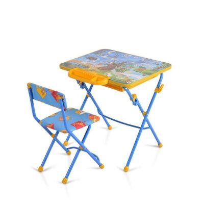 Παιδικό Θρανίο & Καρέκλα - Moni Nika KU2P - E/HVZ