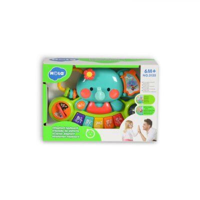 Παιδικό Πιάνο - MONI Toys Hello Elephant 3135