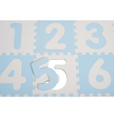 Αντιβακτηριδιακό Πάζλ Δαπέδου 9τμχ με Αριθμούς - SUNTA Mat 1001B3