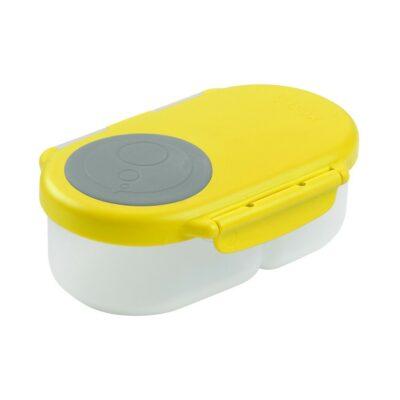 Φαγητοδοχείο 2 Θέσεων - B.Box Snackbox Lemon