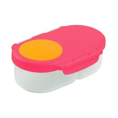 Φαγητοδοχείο 2 Θέσεων - B.Box Snackbox Pink