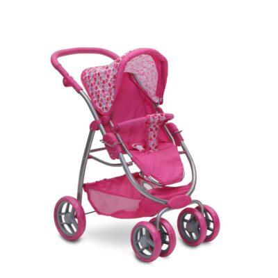 Καρότσι για Κούκλες - MONI Sweet Heart 9662 Pink