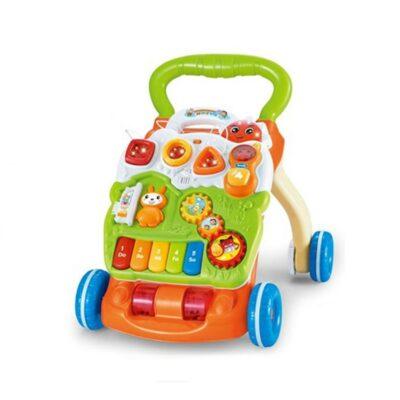 Μουσική Περπατούρα - Τραπεζάκι Δραστηριοτήτων - MONI Toys Baby Piano Walker 999C