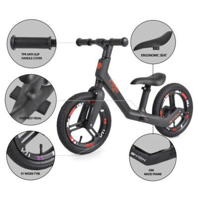 Ποδήλατο Ισορροπίας – BYOX Mojo Red