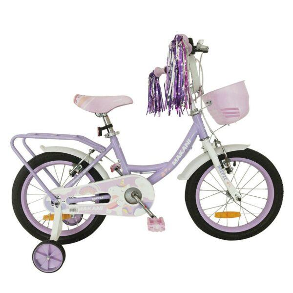 """Παιδικό Ποδήλατο 16"""" Breeze Purple Makani 31006040088"""
