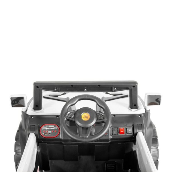 Ηλεκτροκίνητο Τζιπάκι 12V – MONI BO Atlanta White 6188