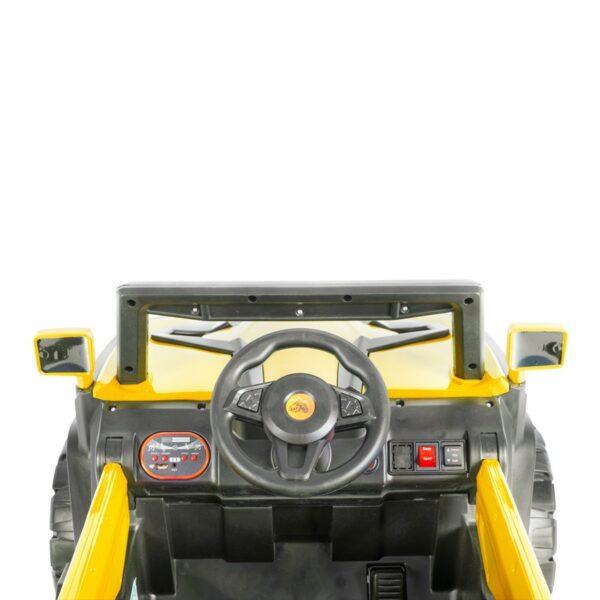 Ηλεκτροκίνητο Τζιπάκι 12V – MONI BO Atlanta Yellow 6188