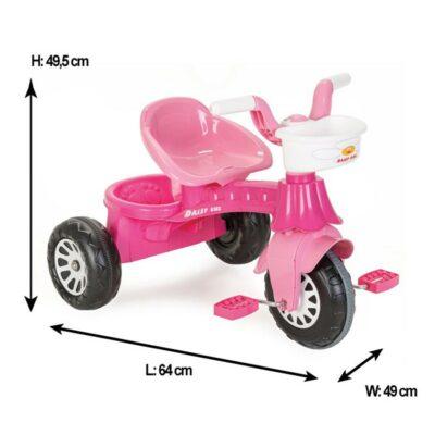 Τρίκυκλο Ποδηλατάκι - Pilsan 07140 Daisy Pink