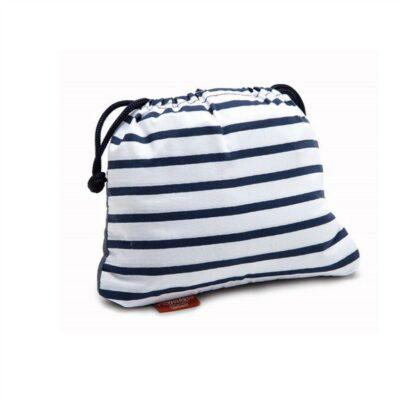 Φορητό Καθισματάκι Φαγητού - Baby To Love Pocket Chair Μπλέ Ριγέ