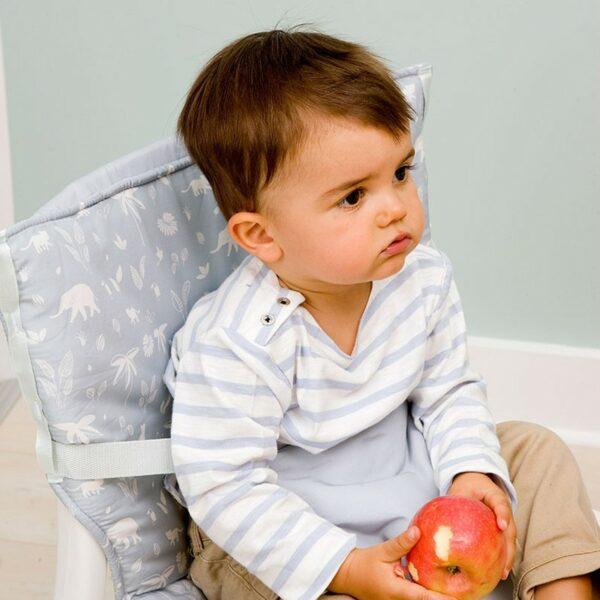 Φορητό Καθισματάκι Φαγητού - Baby To Love Pocket Chair Green Tropic