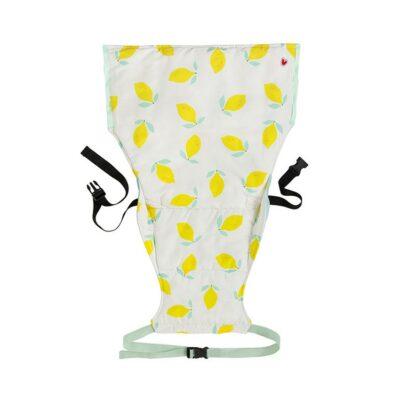 Φορητό Καθισματάκι Φαγητού - Baby To Love Pocket Chair Happy Lemon