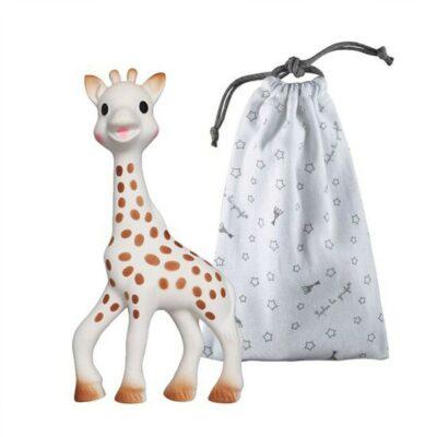 Sophie La Girafe Σόφι η Καμηλοπάρδαλη Με Θήκη Αποθήκευσης 3+ Μηνών