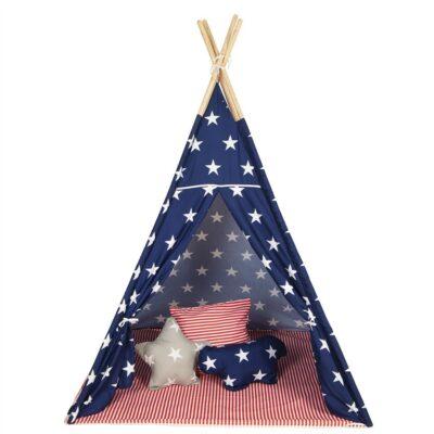 Παιδική Σκηνή - Baby Adventure Teepee Stars & Stripes