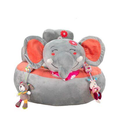 Παιδικό Καθισματάκι-Πολυθρονάκι - Bebe Stars Ελεφαντάκι