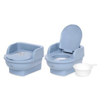 """Παιδική Τουαλέτα με κάθισμα και καπάκι - Lorelli """"THRONE"""" BEAR Dark BLUE"""