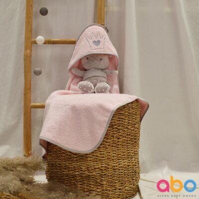 Μπουρνούζι-Κάπα - ABO Little Princess