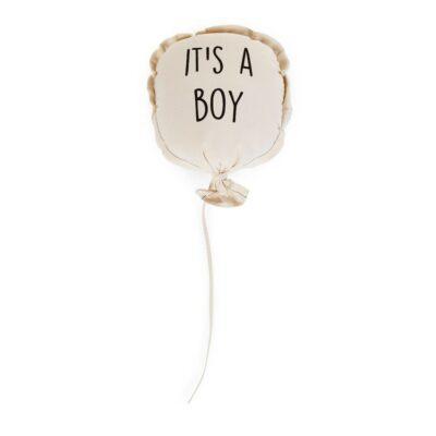 Υφασμάτινο Διακοσμητικό Μπαλόνι 35x26x8εκ. - Childhome It's A Boy