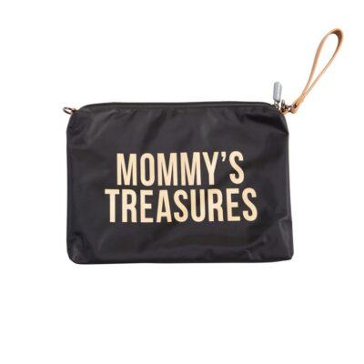Νεσεσέρ - Childhome Mommy Treasures Clutch Black Gold