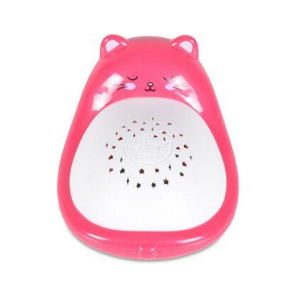 Βρεφικός Προτζέκτορας με Ήχους και Μελωδίες - Cangaroo Animal Pink 11806