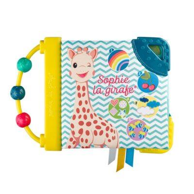 "Sophie La Girafe Μαλακό Βιβλίο Δραστηριότητας ""Το πρώτο μου βιβλιαράκι"""