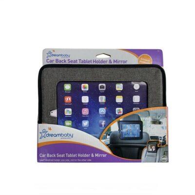 DreamBaby Στήριγμα Tablet & Καθρέφτης Πίσω Καθίσματος Grey