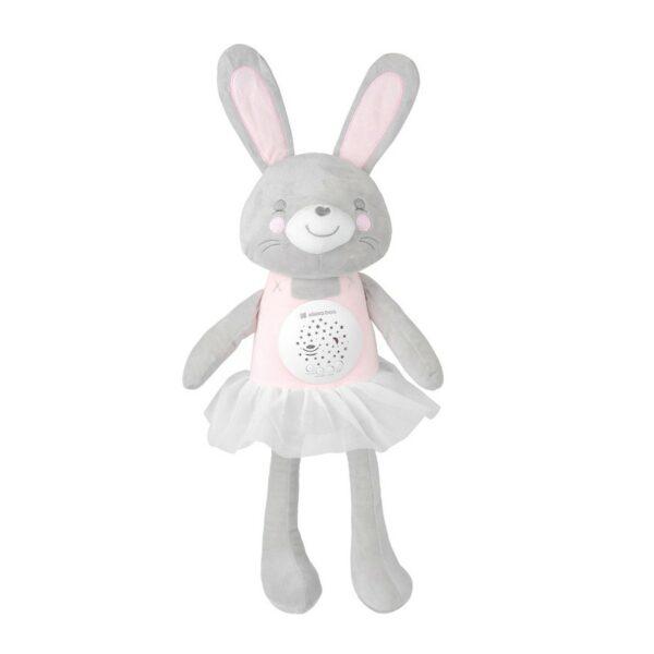 beberose.gr Βελούδινο Παιχνίδι Με Μελωδίες Και Προβολέα - Kikka Boo Bella the Bunny