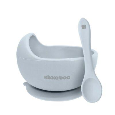 beberose.gr Μπολ Φαγητού Σιλικόνης 250ml - Kikka Boo Yummy Blue
