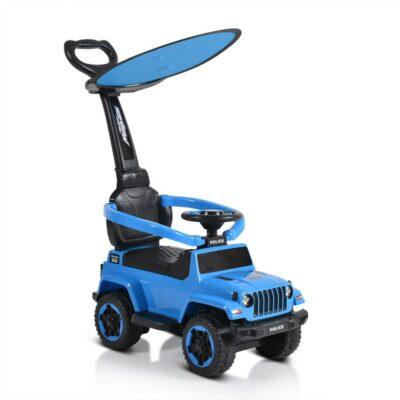 Ποδοκίνητο Αυτοκινητάκι με Λαβή Γονέα - MONI Police 219 Blue