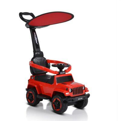 Ποδοκίνητο Αυτοκινητάκι με Λαβή Γονέα - MONI Police 219 Red