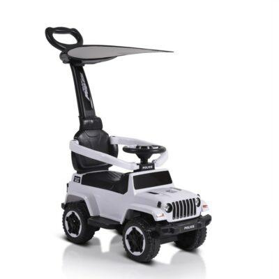 Ποδοκίνητο Αυτοκινητάκι με Λαβή Γονέα - MONI Police 219 White