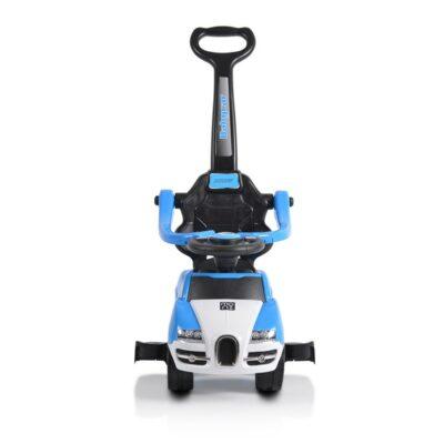Ποδοκίνητο Αυτοκινητάκι με Λαβή Γονέα - MONI Rider 208 Blue