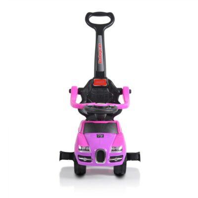 Ποδοκίνητο Αυτοκινητάκι με Λαβή Γονέα - MONI Rider 208 Pink
