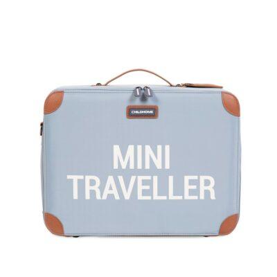 beberose.gr Παιδική Βαλίτσα - Childhome Mini Traveller Grey/Off White