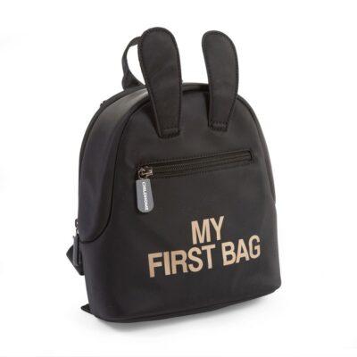 Σακίδιο Πλάτης - Childhome My First Bag Black