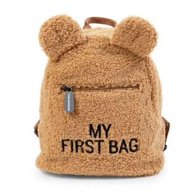 Σακίδιο Πλάτης - Childhome My First Bag Teddy Beige