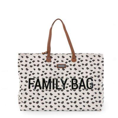 beberose.gr Τσάντα Αλλαγής - Childhome Family Bag Leopard