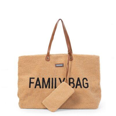 beberose.gr Τσάντα Αλλαγής - Childhome Family Bag Teddy Beige