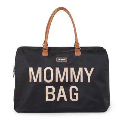 Τσάντα Αλλαγής - Childhome Mommy Bag Big Black Gold