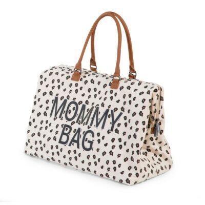 Τσάντα Αλλαγής - Childhome Mommy Bag Big Canvas Leopard